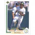 1991 Upper Deck 584 Willie McGee