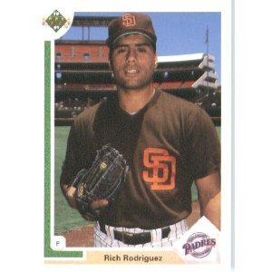 1991 Upper Deck 640 Rich Rodriguez RC