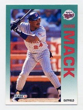 1992 Fleer 210 Shane Mack