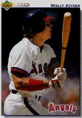 1992 Upper Deck 343 Wally Joyner