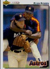 1992 Upper Deck 354 Ryan Bowen