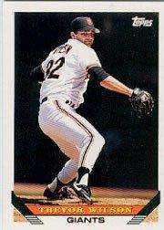 1993 Topps 364 Trevor Wilson