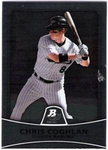 2010 Bowman Platinum 46 Chris Coghlan