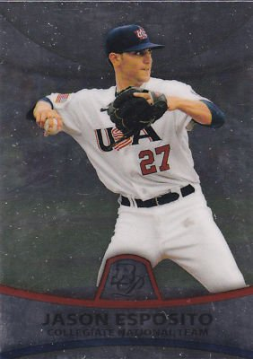 2010 Bowman Platinum Prospects PP34 Jason Esposito