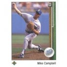 1989 Upper Deck 337 Mike Campbell