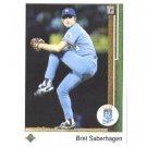 1989 Upper Deck 37 Bret Saberhagen