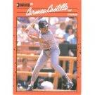 1990 Donruss 554 Carmen Castillo