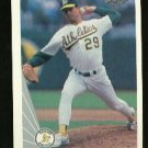 1990 Leaf 424 Curt Young