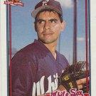 1991 Topps 378A Wilson Alvarez ERR/('89 Port Charlotte/and '90