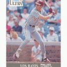 1991 Ultra #264 Von Hayes
