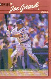 1990 Donruss 404 Joe Girardi