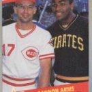 1989 Fleer 637 Chris Sabo/Bobby Bonilla UER/Bobby Bonds, sic