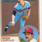 1983 Topps #327 Bobby Castillo