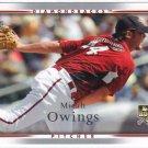 2007 Upper Deck #524 Micah Owings (RC)
