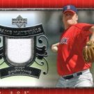 2007 Upper Deck UD Game Materials #CS Curt Schilling