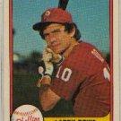 1981 Fleer #2 Larry Bowa