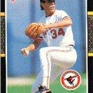 1987 Donruss #273 Storm Davis