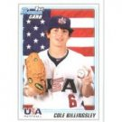 2010 Bowman Draft Prospects #BDPP58 Cole Billingsley
