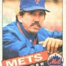 1985 Topps #492 Dave Johnson MG