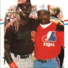 1988 Fleer 631 Tony Gwynn/Tim Raines