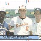 1988 Fleer 635 Tony Fernandez/Cal Ripken/Alan Trammell