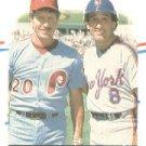 1988 Fleer 636 Mike Schmidt/Gary Carter