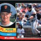 1991 Fleer All-Stars #3 Matt Williams