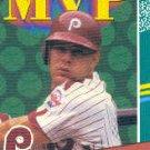 1991 Donruss #410 Len Dykstra MVP