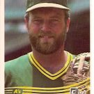 1984 Donruss #156 Jeff Burroughs