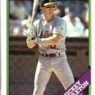 1988 Topps 143 Mickey Tettleton