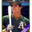 1988 Topps 370 Jose Canseco