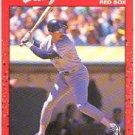 1990 Donruss 122 Dwight Evans