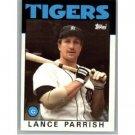 1986 Topps 740 Lance Parrish