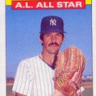 1986 Topps 721 Ron Guidry AS