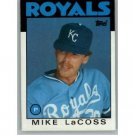 1986 Topps 359 Mike LaCoss