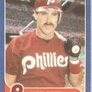 1986 Fleer #451 Rick Schu