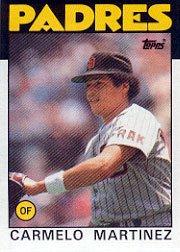 1986 Topps 67 Carmelo Martinez