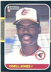 1987 Donruss #582 Odell Jones