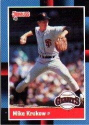 1988 Donruss 116 Mike Krukow
