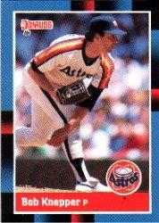 1988 Donruss 138 Bob Knepper