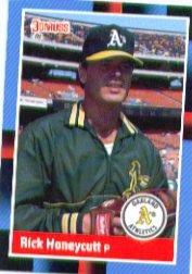 1988 Donruss 590 Rick Honeycutt