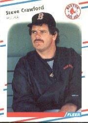 1988 Fleer 350 Steve Crawford