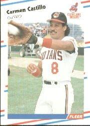 1988 Fleer 606 Carmen Castillo