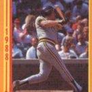 1988 Score 642 Mackey Sasser RC