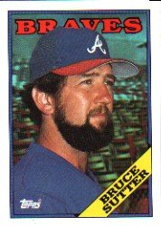 1988 Topps 155 Bruce Sutter