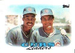 1988 Topps 171 Shawon Dunston/Manny Trillo TL