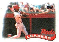 1989 Topps 111 Eric Davis TL