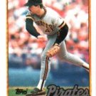 1989 Topps 165 Mike Dunne