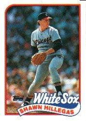 1989 Topps 247 Shawn Hillegas