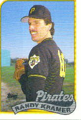 1989 Topps 522 Randy Kramer